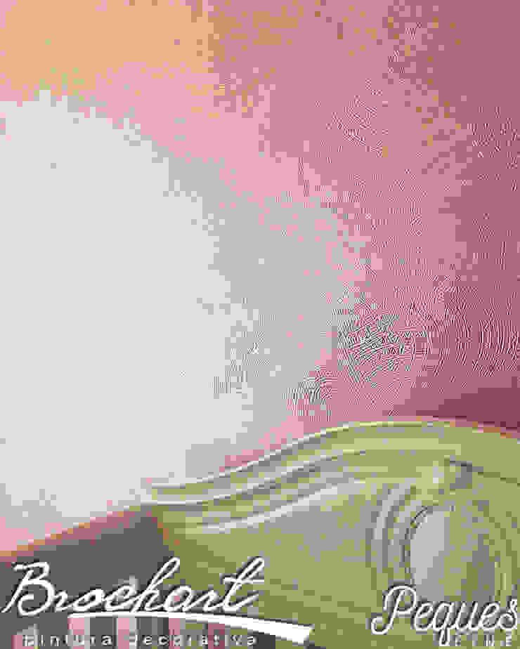 Técnica Malla © de Brochart pintura decorativa Moderno