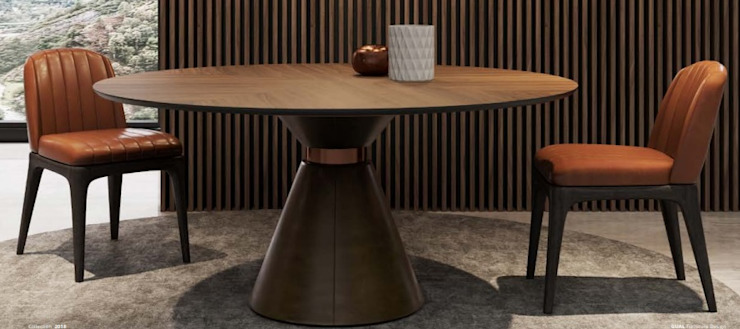 غرفة المعيشة تنفيذ CRISTINA AFONSO, Design de Interiores, uNIP. Lda