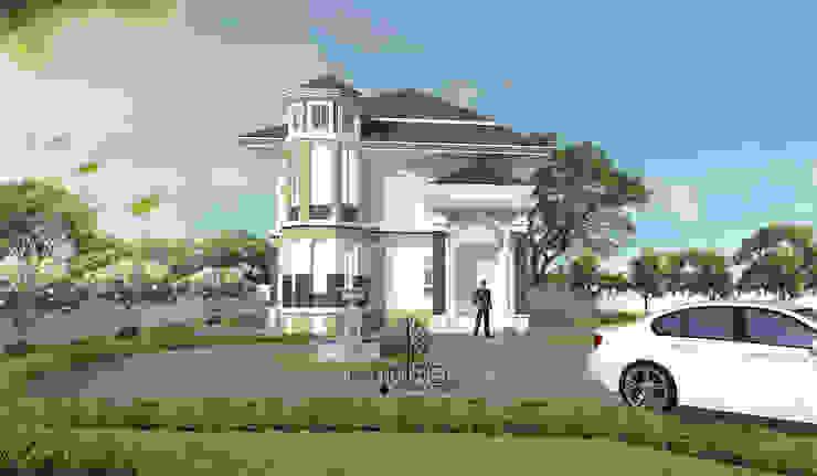 บ้านพักอาศัยสไตล์โคโลเนียล 2 ชั้น โดย raintree design studio โคโลเนียล