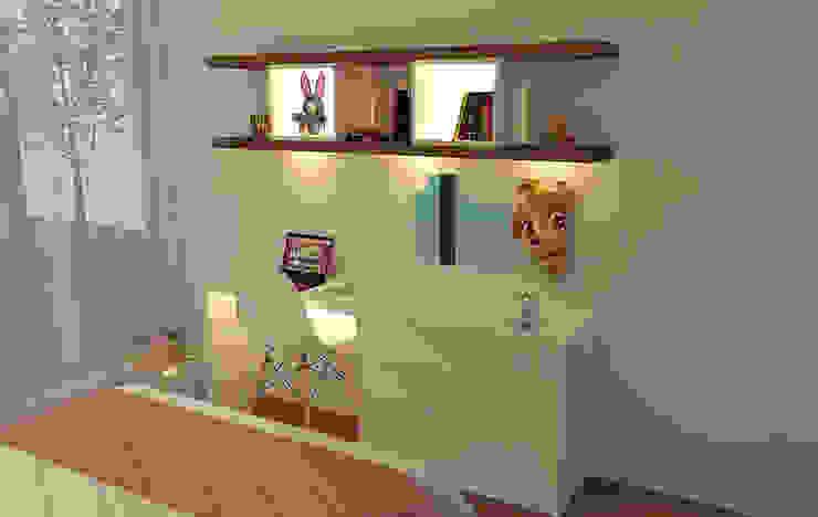 Casactiva Interiores Habitaciones de niñas Madera Blanco