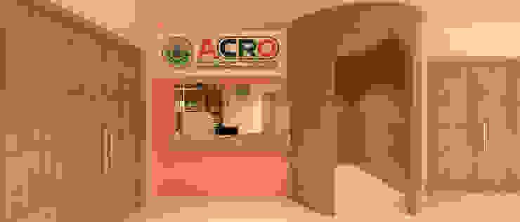 งานตกแต่งภายใน ACRO Ward Center: ทันสมัย  โดย raintree design studio, โมเดิร์น