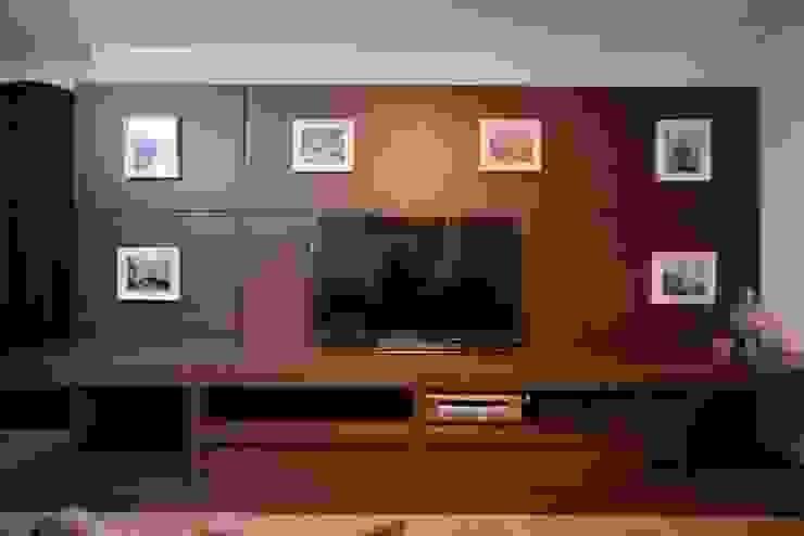 Kaza Estúdio de Arquitetura Classic style media room