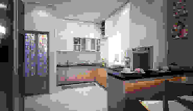 kitchen-1 Modern kitchen by homify Modern