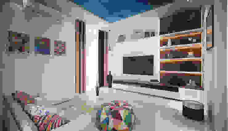 living 2 Modern Living Room by homify Modern