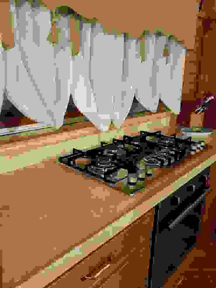 CusenzaMarmi Cocinas de estilo mediterráneo Piedra Beige