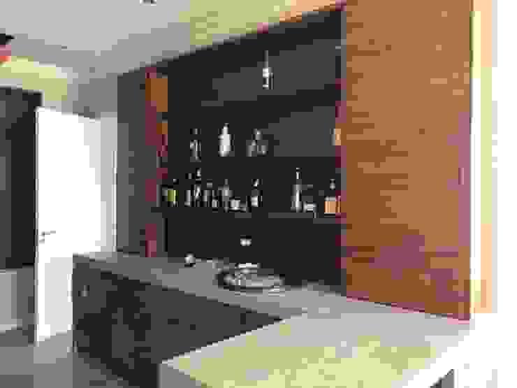 Bar unit by Lean van der Merwe Interiors Eclectic