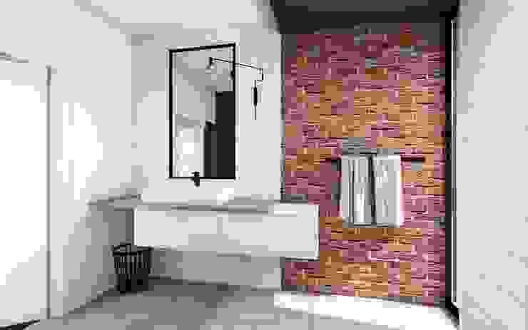 projekt łazienki Nowoczesna łazienka od Offa Studio Nowoczesny