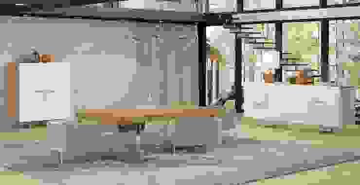A arte de bem receber... Salas de jantar modernas por Casactiva Interiores Moderno MDF