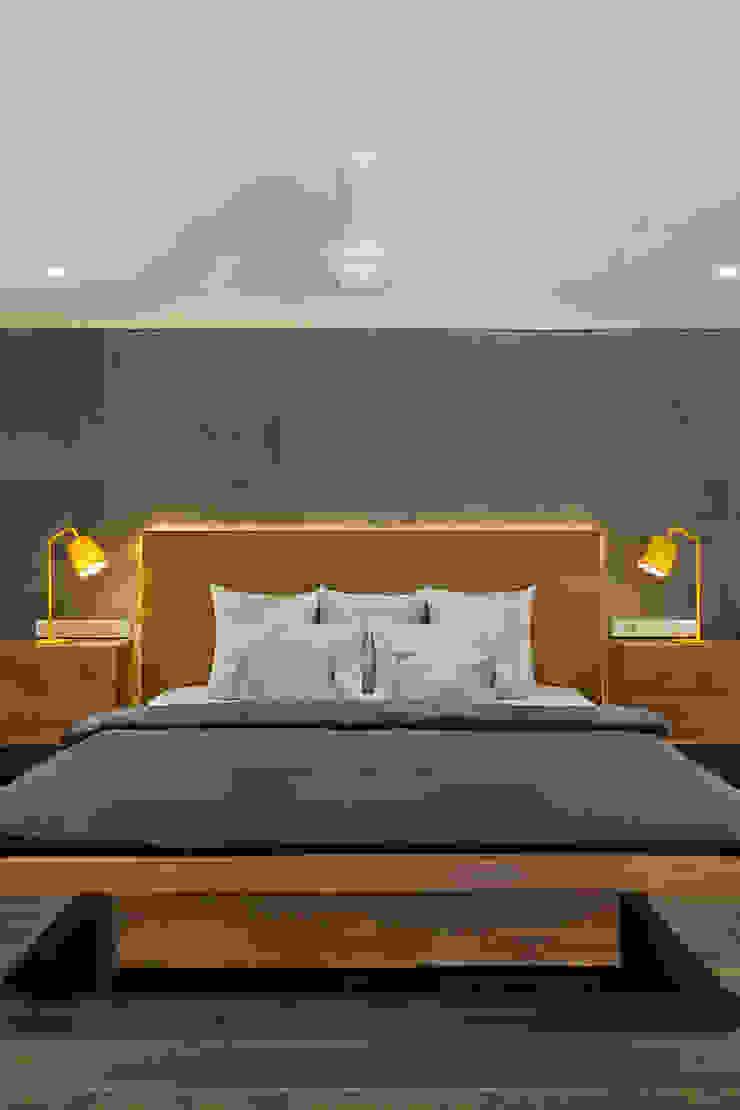 Industriale Schlafzimmer von Studio Nishita Kamdar Industrial