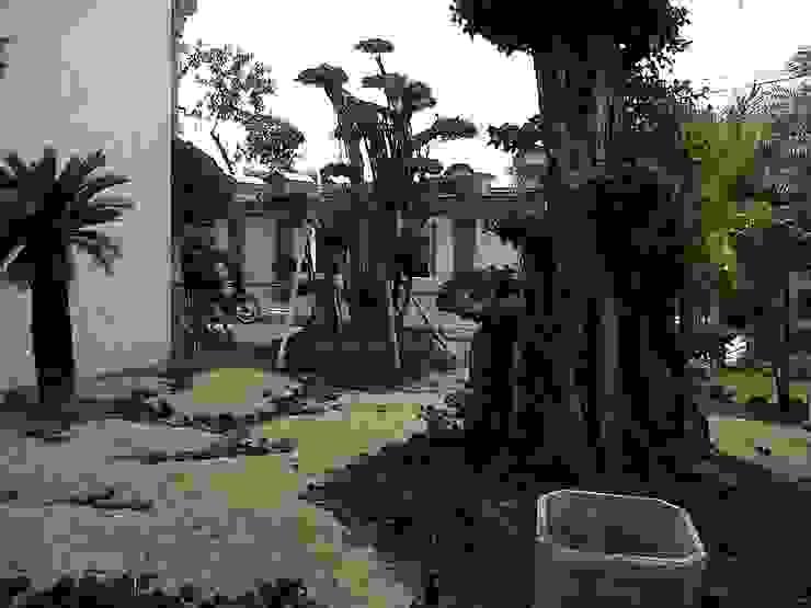 pembuatan taman rumah di surabaya:modern  oleh TUKANG TAMAN SURABAYA - jasataman.co.id, Modern