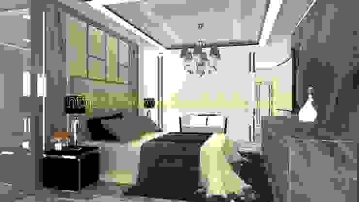 คอนโดมีเนื้อที่ 140 Sq.m Location Siam square area  Modern Luxury style: ทันสมัย  โดย PROFILE INTERIOR STUDIO, โมเดิร์น แกรนิต