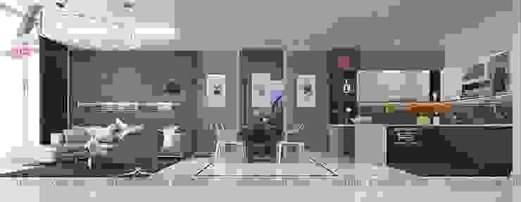 Modern Living Room by Nội Thất An Lộc Modern