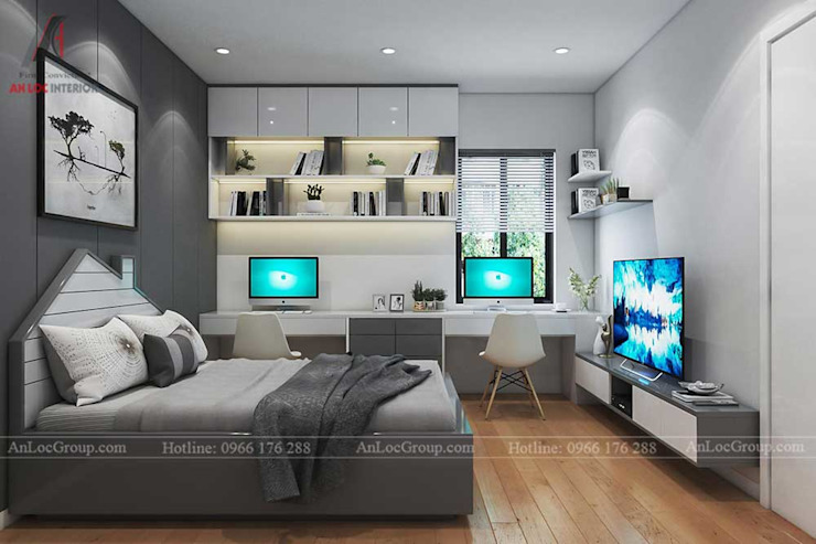 Modern style bedroom by Nội Thất An Lộc Modern