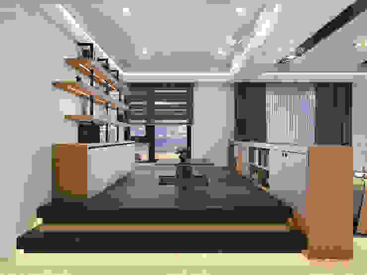 和室/鐵件/低調極簡的現代禪風 根據 木博士團隊/動念室內設計制作 現代風