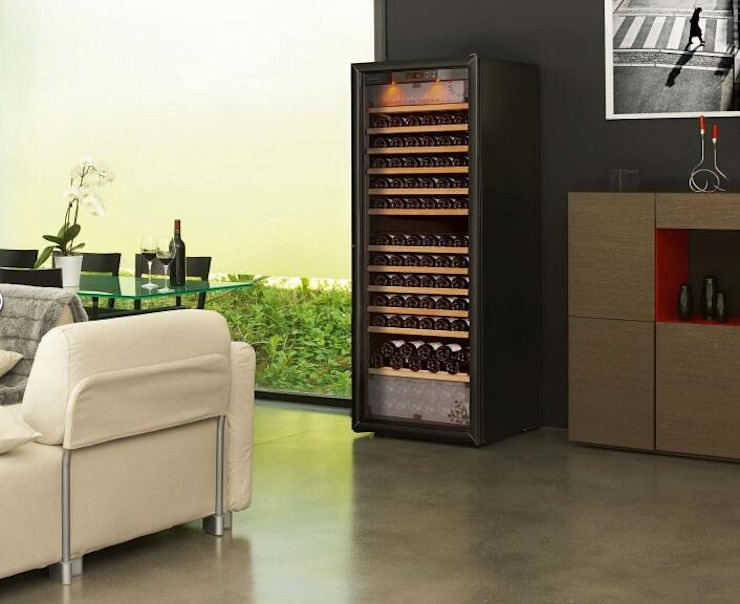 EUROCAVE酒櫃用新的科技方式叫你藏酒技巧: 斯堪的納維亞  by 北京恒邦信大国际贸易有限公司, 北歐風