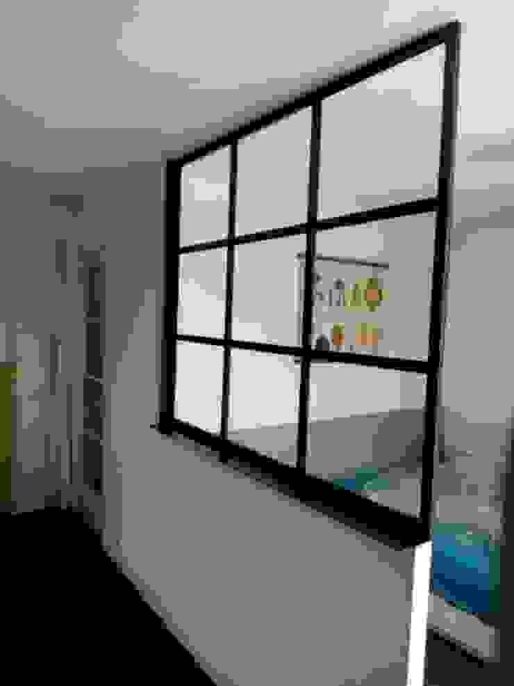 CLF Création Camera da letto in stile industriale