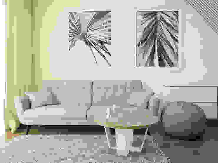 UTOO-Pracownia Architektury Wnętrz i Krajobrazu Ruang Keluarga Modern