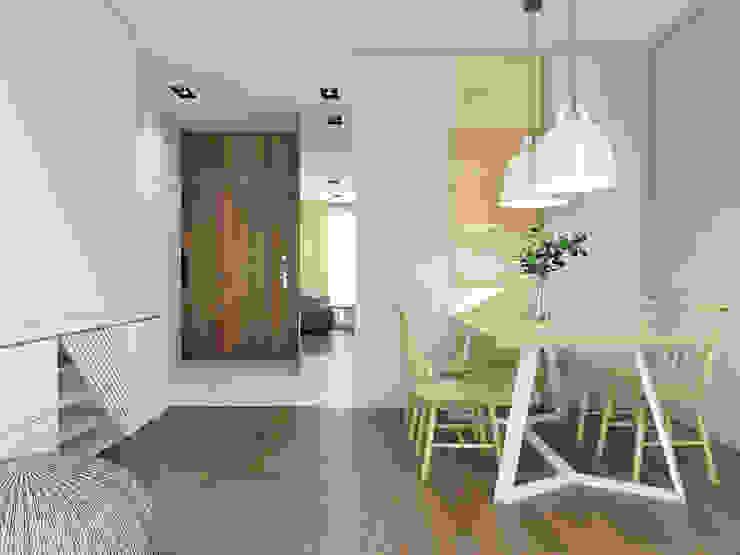 UTOO-Pracownia Architektury Wnętrz i Krajobrazu Ruang Makan Modern