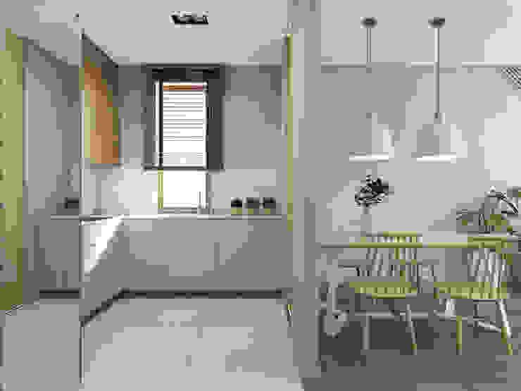 Modern Kitchen by UTOO-Pracownia Architektury Wnętrz i Krajobrazu Modern