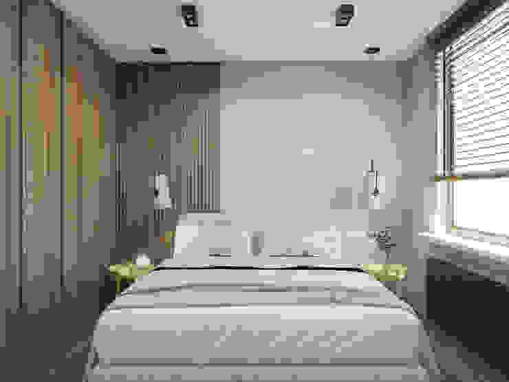 Modern Bedroom by UTOO-Pracownia Architektury Wnętrz i Krajobrazu Modern