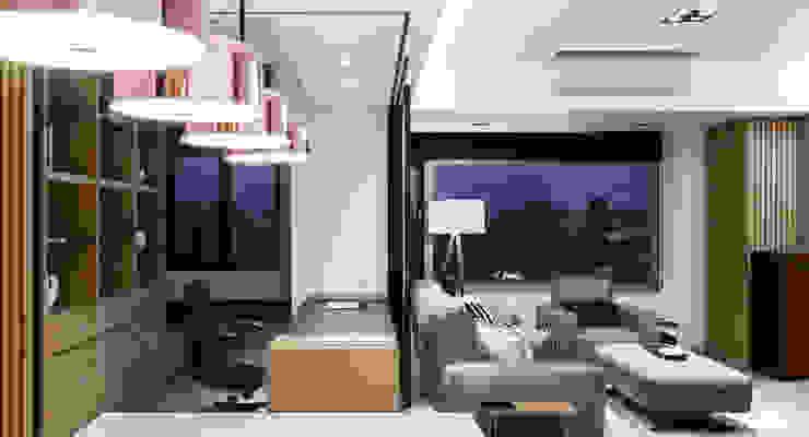 京彩室內設計裝修工程公司 Modern Study Room and Home Office