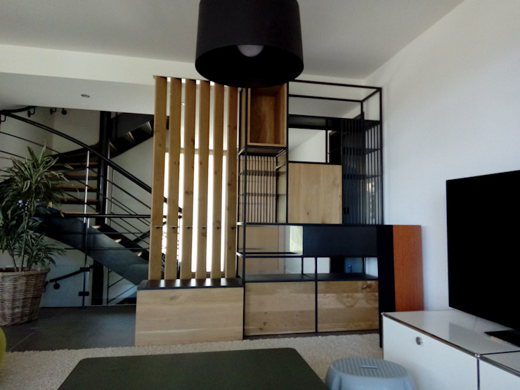 CLF Création 玄關、走廊與階梯儲藏櫃