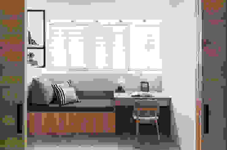 Bedroom by 京彩室內設計裝修工程公司