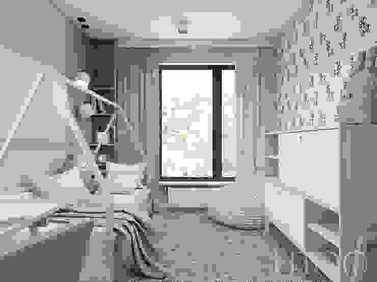 UTOO-Pracownia Architektury Wnętrz i Krajobrazu Scandinavian style nursery/kids room