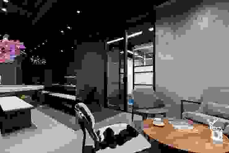 錠藍 根據 京彩室內設計裝修工程公司 現代風