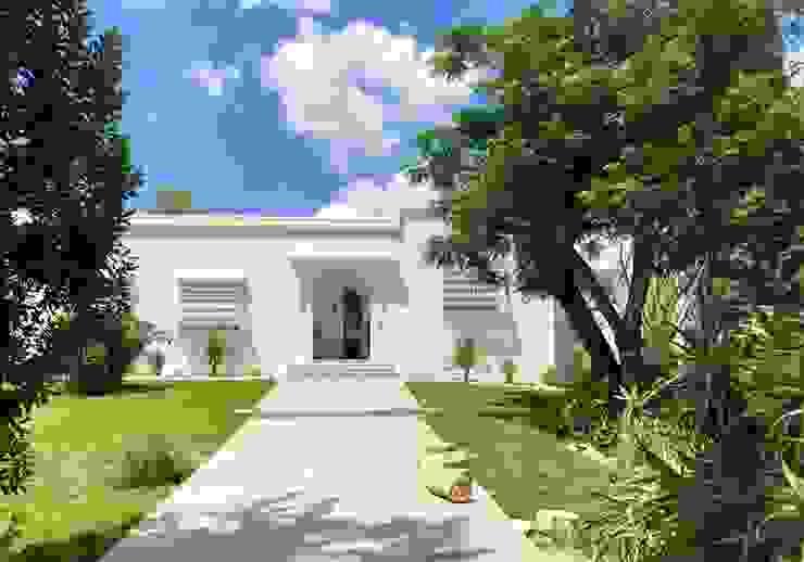 Villa C. B.A-Studio Mediterranean style house
