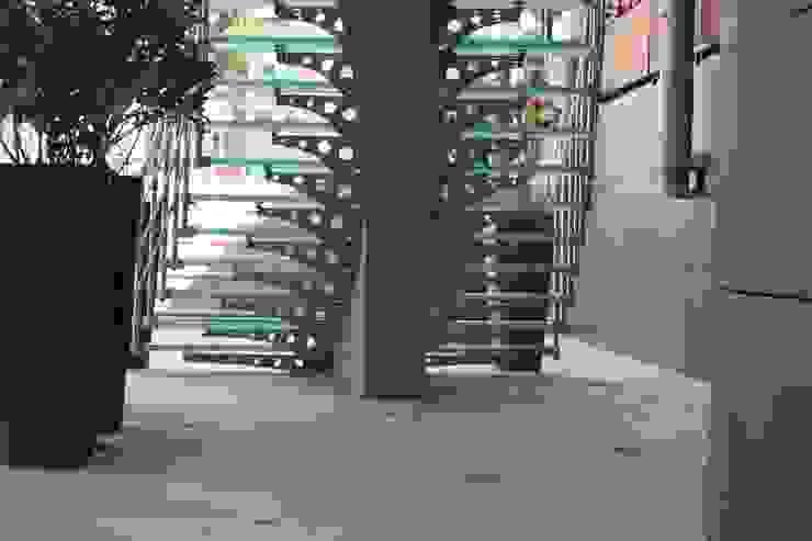 Visal Merdiven Corridor, hallway & stairsStairs Glass Grey