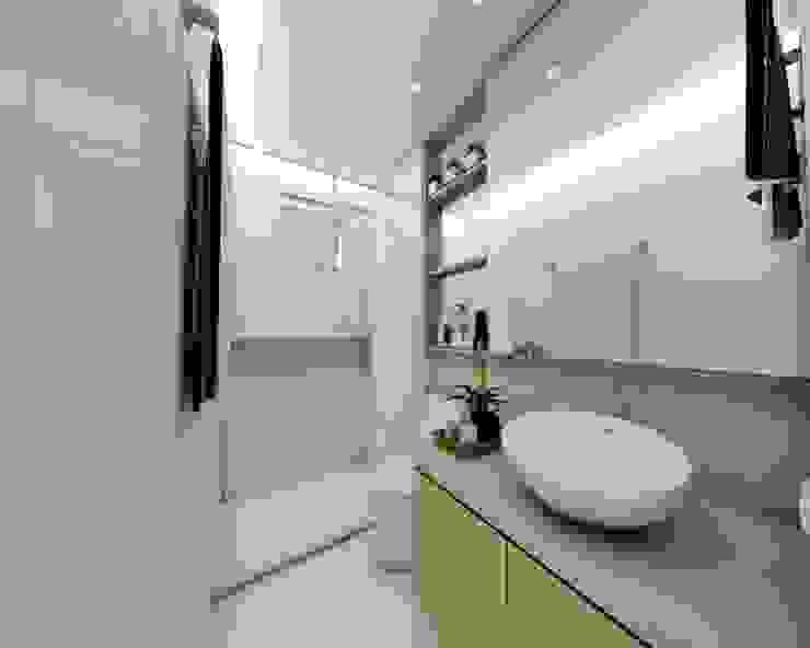 Apartamento FV CIX | Arquitetura e Interiores Banheiros modernos