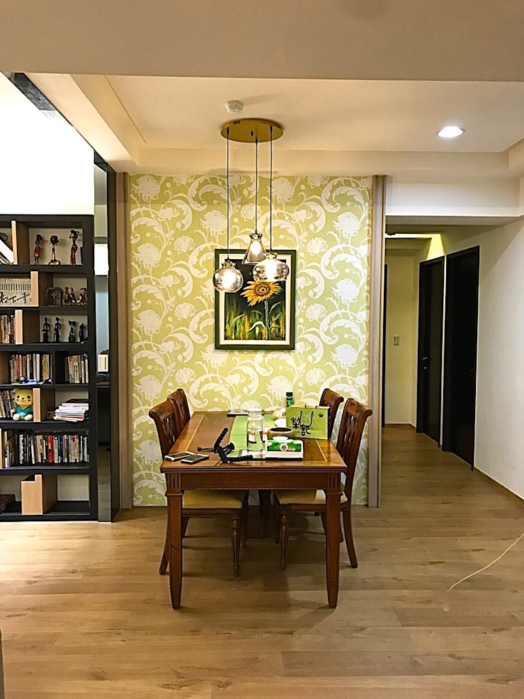 富有生命力的餐廳 根據 圓方空間設計 日式風、東方風 合板