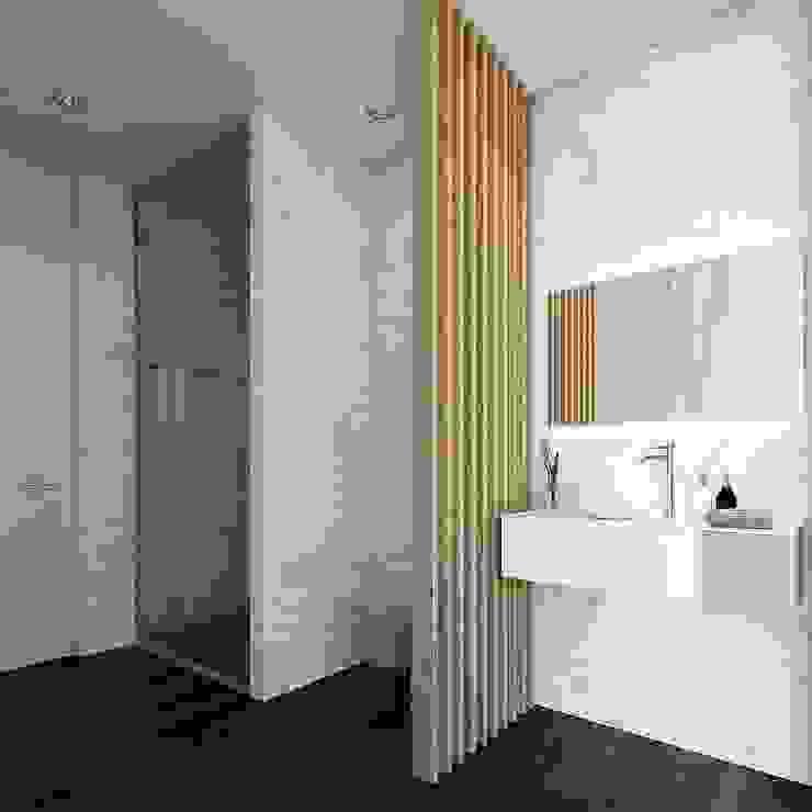 Baños de estilo moderno de EsboçoSigma, Lda Moderno