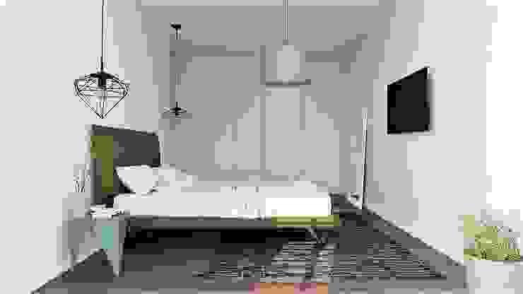 Dormitorios de estilo moderno de EsboçoSigma, Lda Moderno