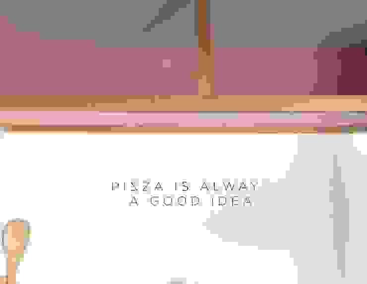 Pizzaria Take Away Espaços de restauração modernos por IN PACTO Moderno