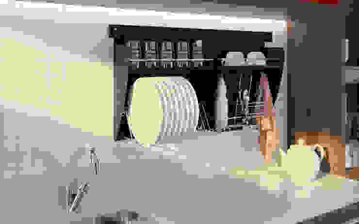 Nichos Organizadores para Cozinha por Intervento Design Moderno
