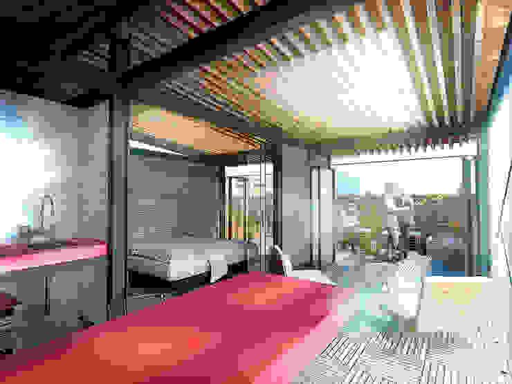 Texas 77 Salones modernos de All Arquitectura Moderno