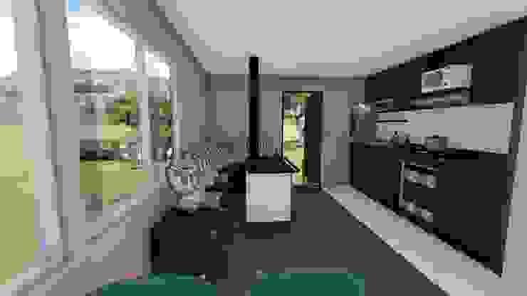 imagen3d/cocina de Ekeko arquitectura - Coquimbo Moderno
