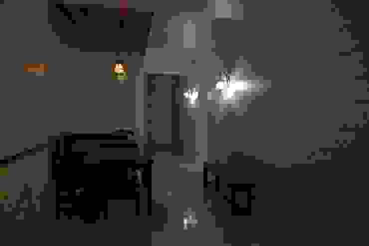 戶外壁燈加分效果 鄒迷藏設計|人衣人兒工作室 餐廳