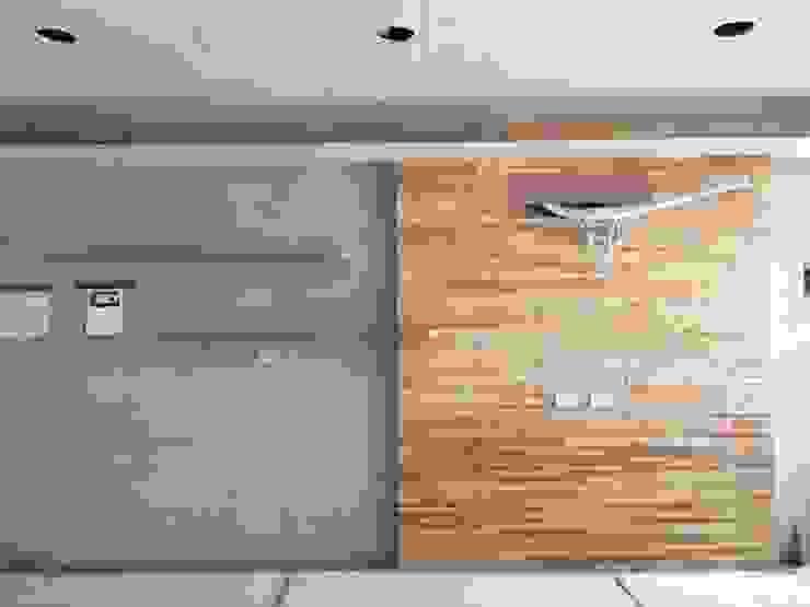 電視主牆 根據 鄒迷藏設計|人衣人兒工作室 隨意取材風