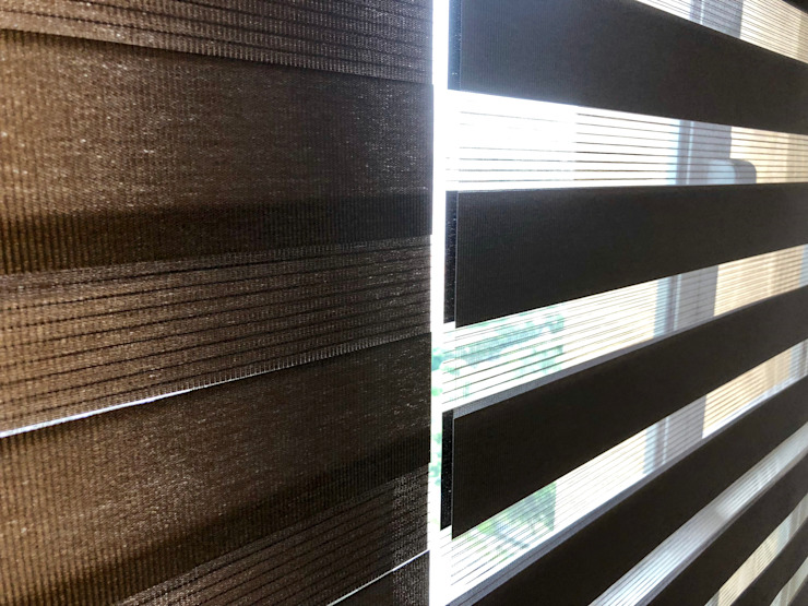 Duo Blinds, Korean Blinds etc by Window Essentials Wood Wood effect