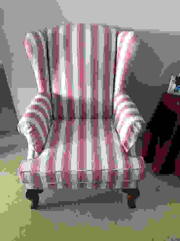 Outdoor fabric Armchair: modern  by Window Essentials,Modern Textile Amber/Gold