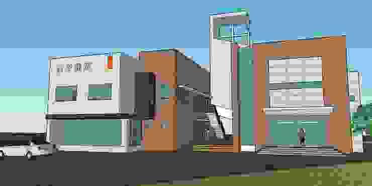 강원도 간성교회: 건축사사무소 이레EL의 현대 ,모던