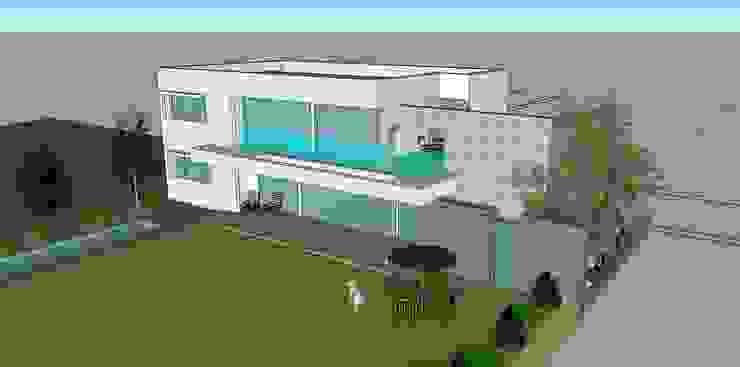 진천 장관리 주택: 건축사사무소 이레EL의 현대 ,모던