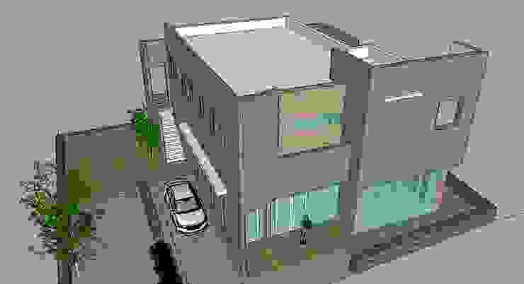 제주도 와산리 상가주택: 건축사사무소 이레EL의 현대 ,모던