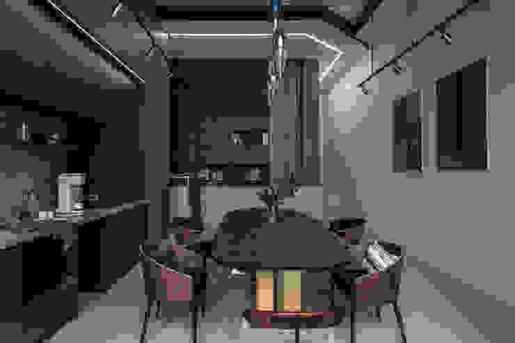 Kantor & Toko Modern Oleh 達譽設計 Modern