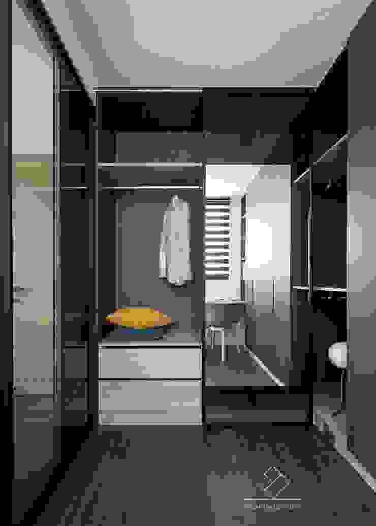 更衣間 根據 極簡室內設計 Simple Design Studio 現代風