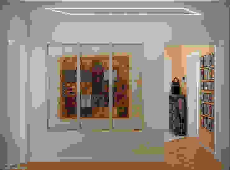 Koridor & Tangga Modern Oleh Студия интерьерного дизайна happy.design Modern