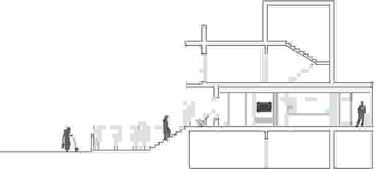 Sección de la propuesta de Loft 26 Moderno